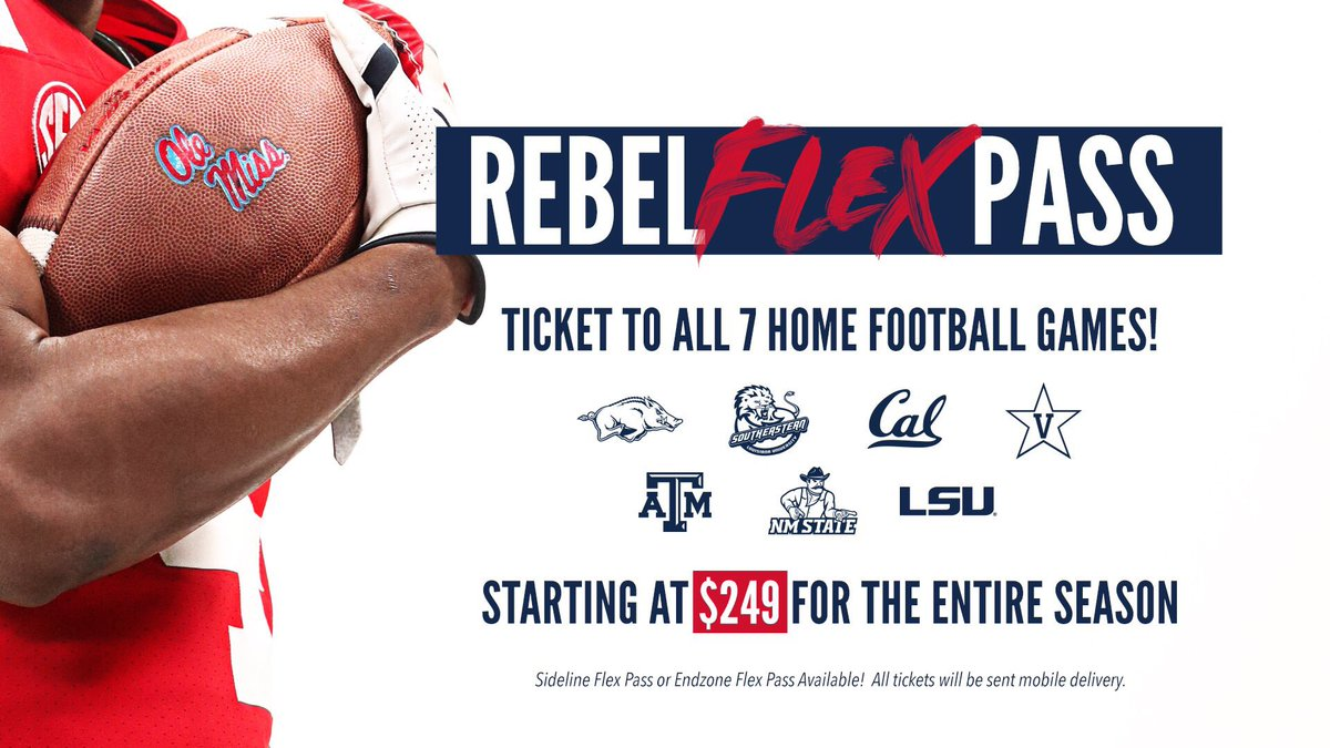 💪Get the All-New Rebel Flex Pass💪 ✅ View and Manage all of your tickets straight from your📱 ✅ Sit with Friends by linking your passes together ✅Cant make a game? Return your tickets for credit towards Guest Tickets. 🎟 rebs.us/XfuK50vsUxg