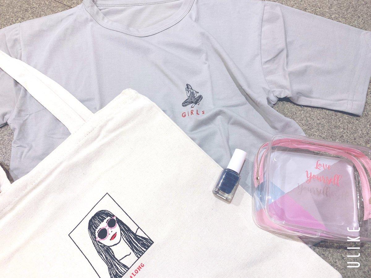 test ツイッターメディア - #ダイソー の大型店舗に入り浸ってこちらを購入!  #ダイソー購入品 #TGC コラボ商品🤘❤️  Tシャツレッスン着にしようと思って買ったけどふっつーに可愛いし触り心地良き◎ https://t.co/IevThGlZ0E