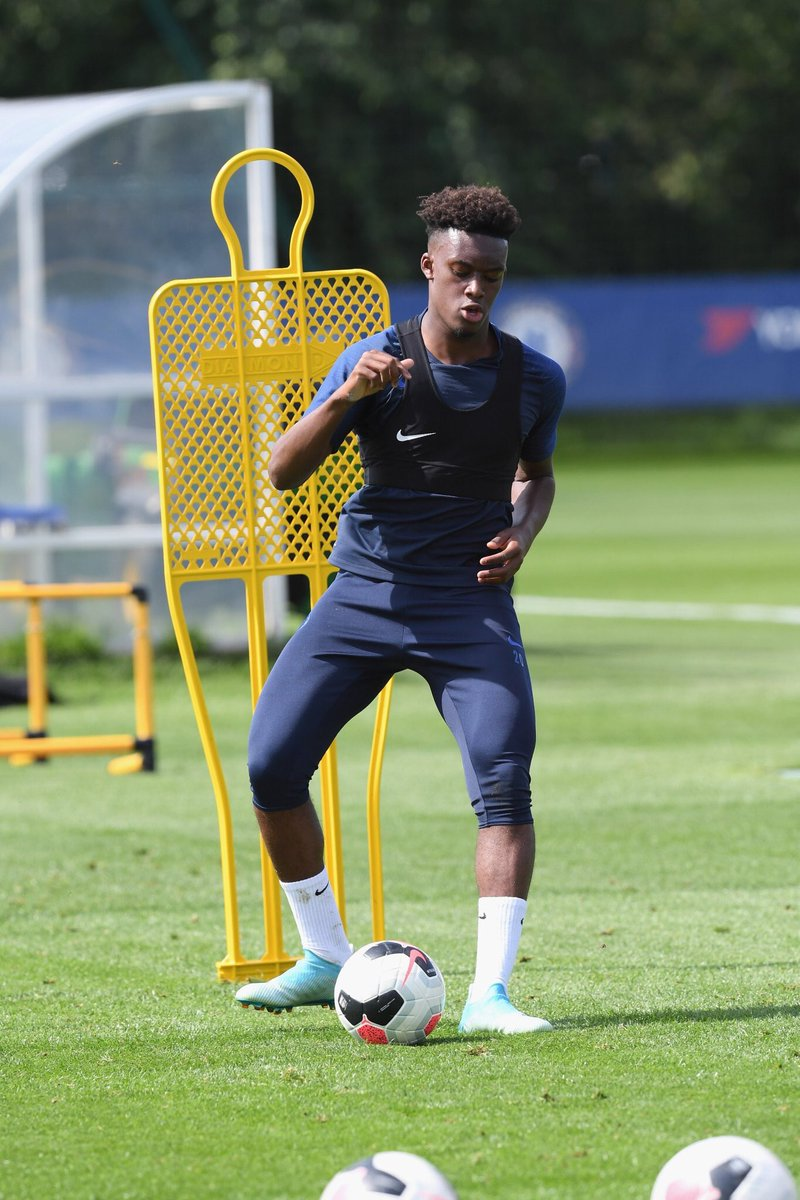 Callum Hudson-Odoi has returned to training with the first-team squad.  #CFC <br>http://pic.twitter.com/VCF4JpUalP