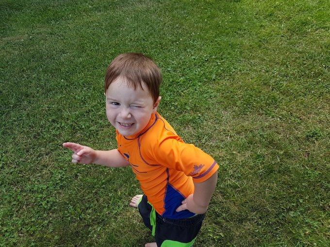 Happy to big boy Ronan!