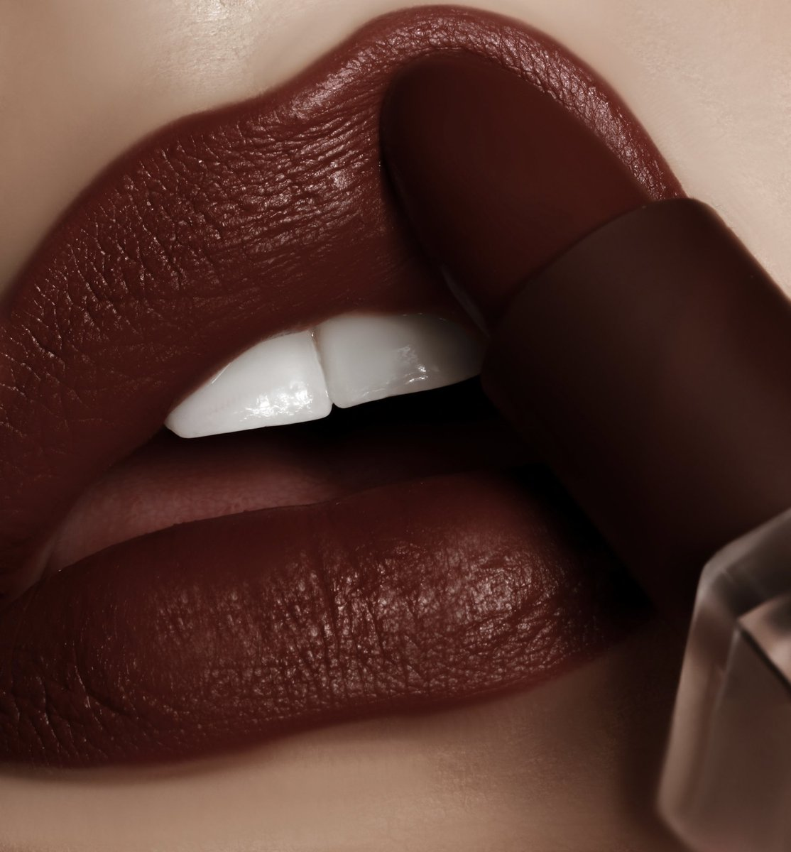 Matte Cocoa 90's Chic Lipstick is a warm reddish brown shade. This new lipstick formula provides a velvet matte finish with a comfortable non-drying wear. Shop it for $18 today at  http://KKWBEAUTY.COM   #KKWBEAUTY