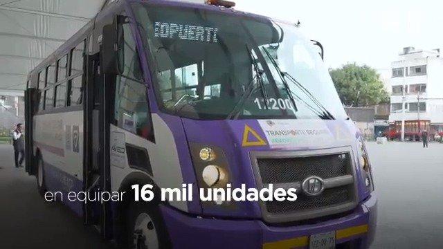 Trasladate seguro a cualquier punto de la ciudad en transporte público.  Ahora contarán con videovigilancia conectada al @C5_CDMX para atender de forma más eficiente cualquier emergencia. #CiudadSegura