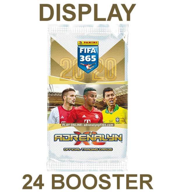 24 Booster Trading Card Neu Panini Adrenalyn XL FIFA 365 2020 1 x Display