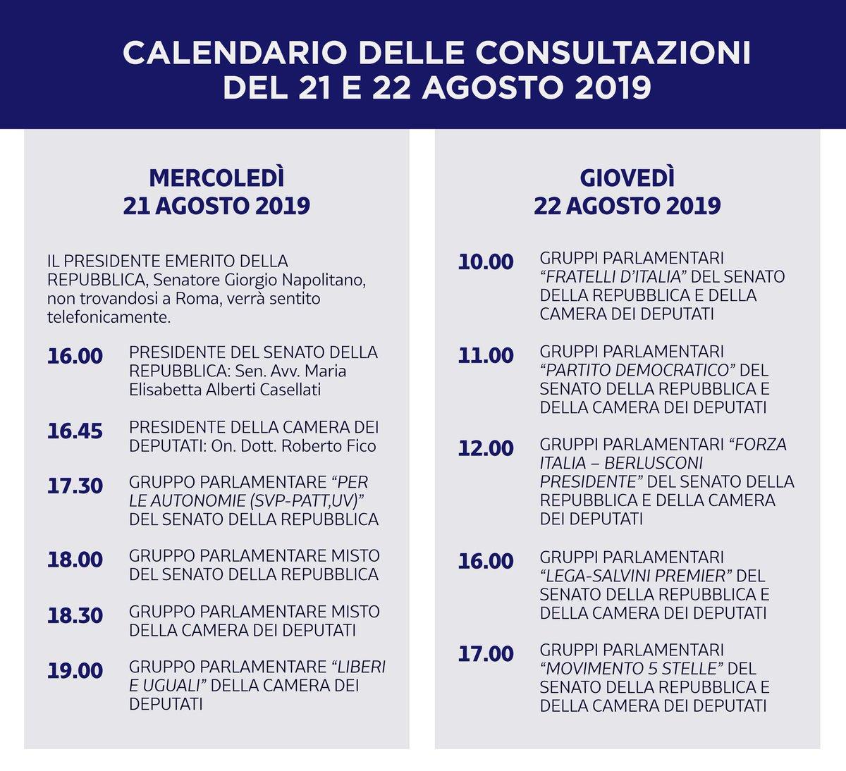 @Quirinale's photo on #consultazioni