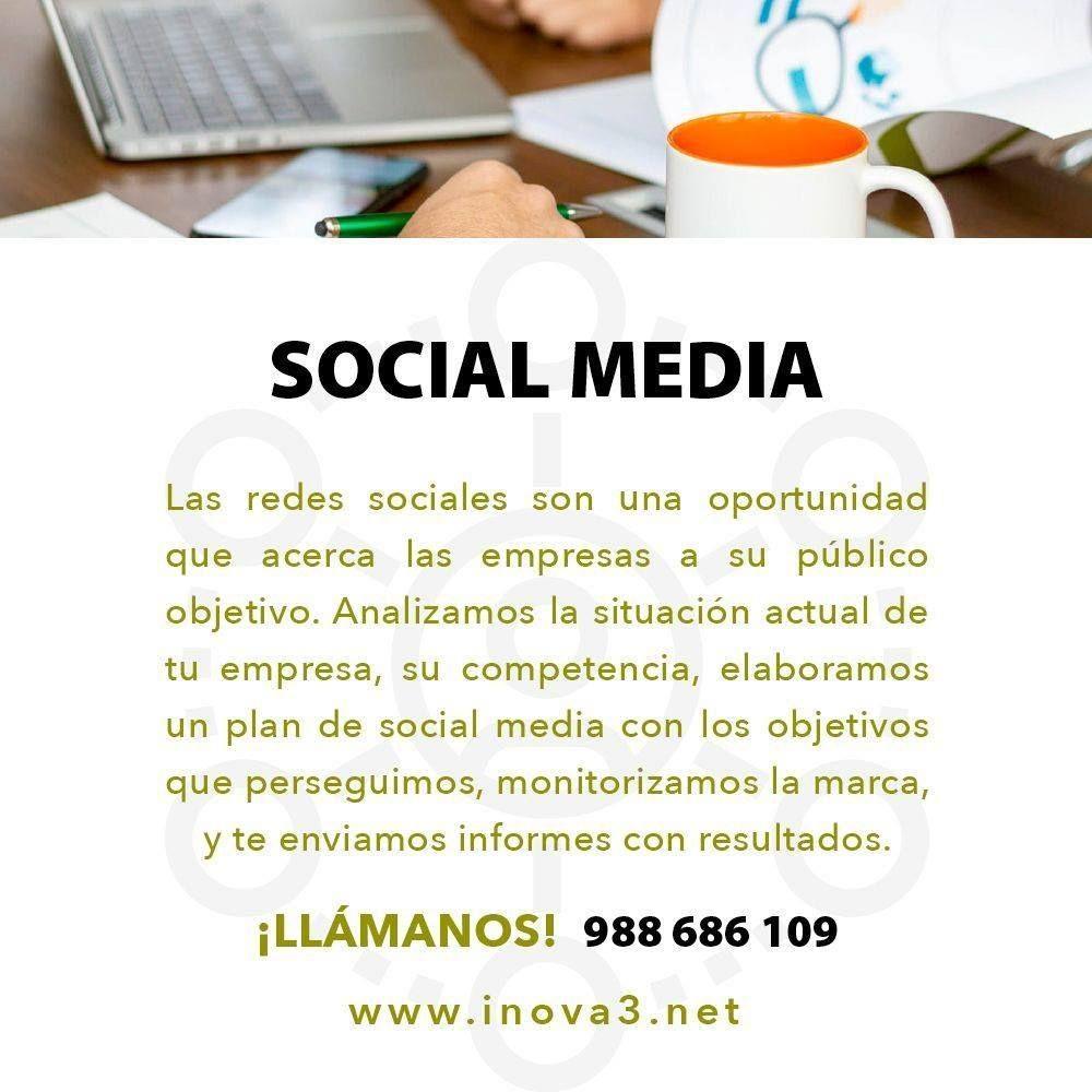 Las Redes Sociales son una oportunidad que acerca las empresas a su público objetivo. Analizamos la situación actual de tu empresa, su competencia, elaboramos un plan de social media con los objetivos que perseguimos, monotorizamos la marca, y te enviamos informes con resultados