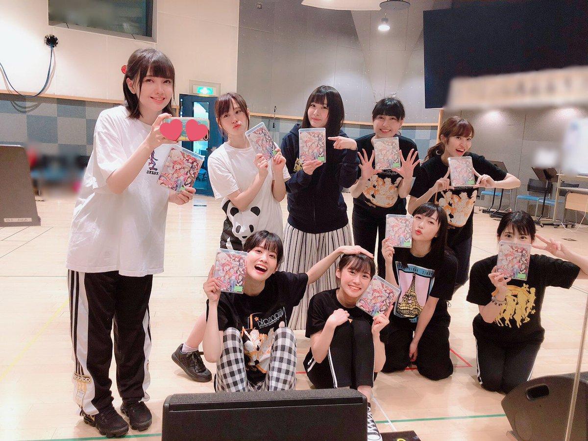 🌈ラブライブ!虹ヶ咲学園スクールアイドル同好会 Memorial Disc ~Blooming Rainbow~🌈本日発売です!!!!☺️🎀あなたに見てもらいたいな...💕