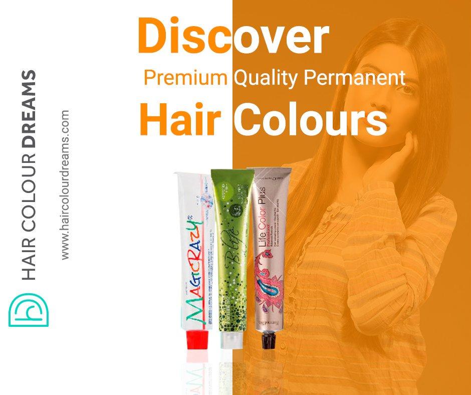 Premium Quality Permanent Hair Colours