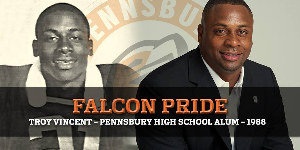 This week high school football seasons are kicking off across the country. Best wishes to my alma mater @PennsburyFB on a successful year. Go Falcons! #PlayFootball