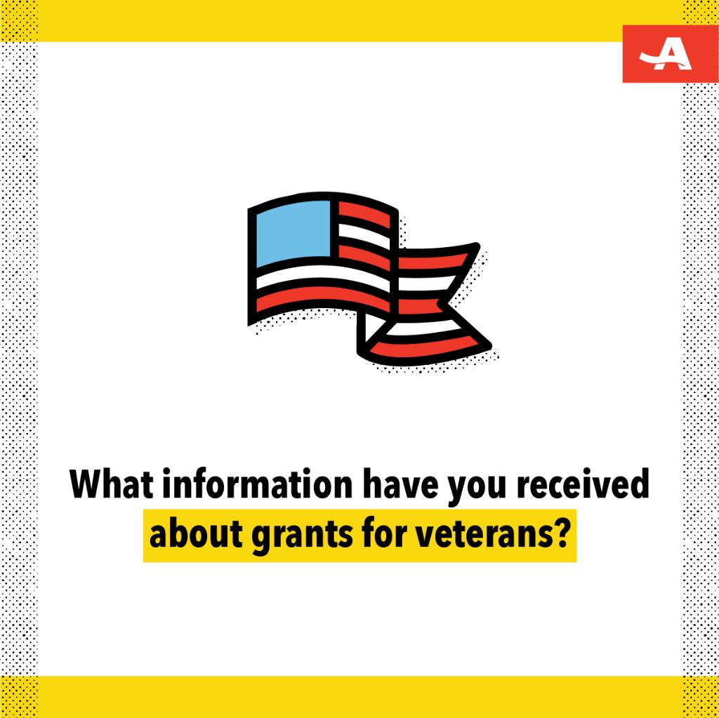 There are grants set up to assist Veterans with housing, home care, transportation and more.