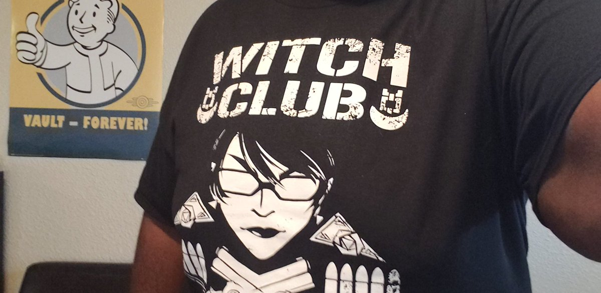 Morning everyone!  And forget the Bullet Club, I'm now apart of the #WitchClub!  #MutantAlliance<br>http://pic.twitter.com/GmGCyTUFsU