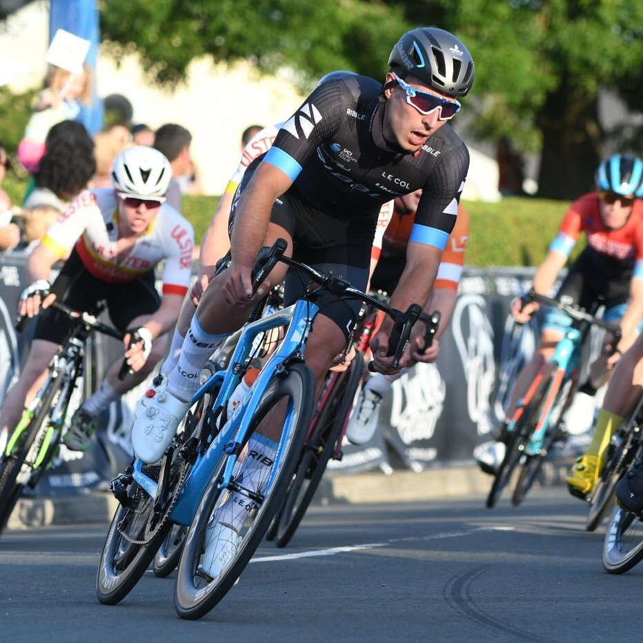 Damien Clayton wins GP Marbiers UCI 1.2, more to follow! #TeamRibble
