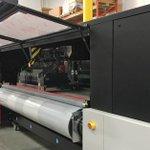 Image for the Tweet beginning: This Tauro #largeformat #inkjet printer,