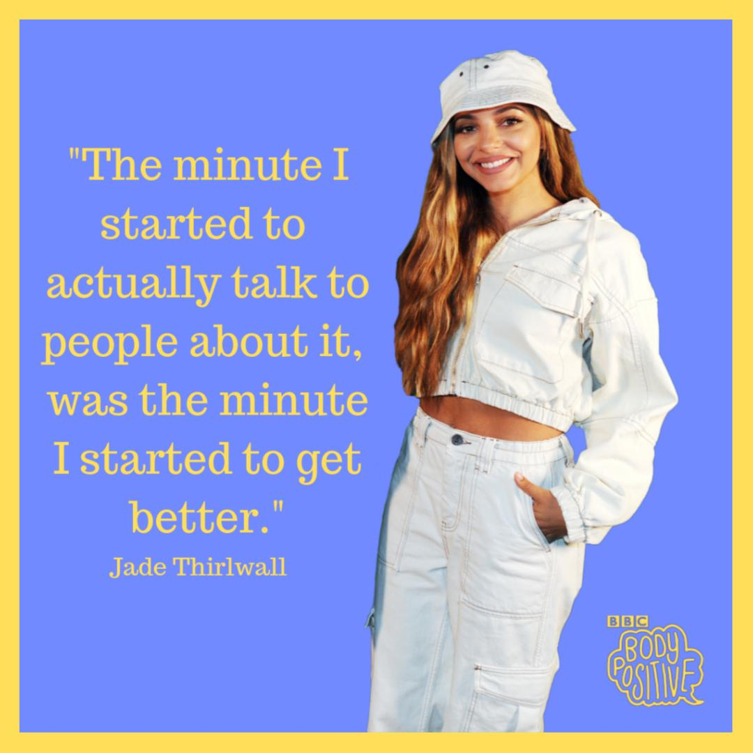 Big ❤️ to Jade from @LittleMix for sharing her story of surviving an eating disorder. If you need support, talk to a friend or you can find some helpful resources on bbc.co.uk/actionline
