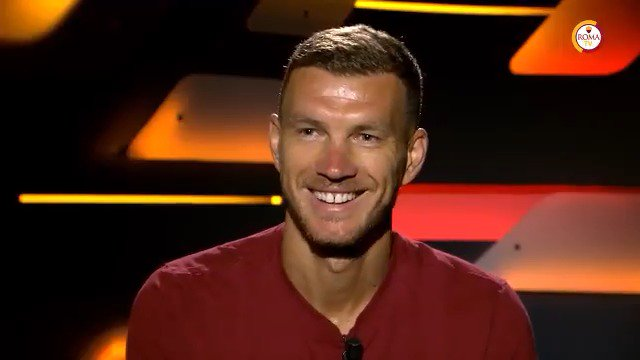 Rome is my home - I really do feel that way. @EdDzeko on signing a new contract with #ASRoma... 🐺