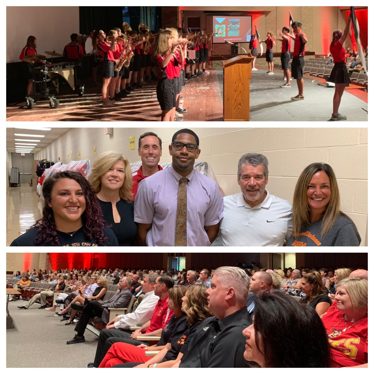 Great Convocation today! Thank you Tim Kight, for your words of wisdom! Bee your Best, Bee One Community, Bee the Future! #BBHeritage<br>http://pic.twitter.com/zubKFOlZvn