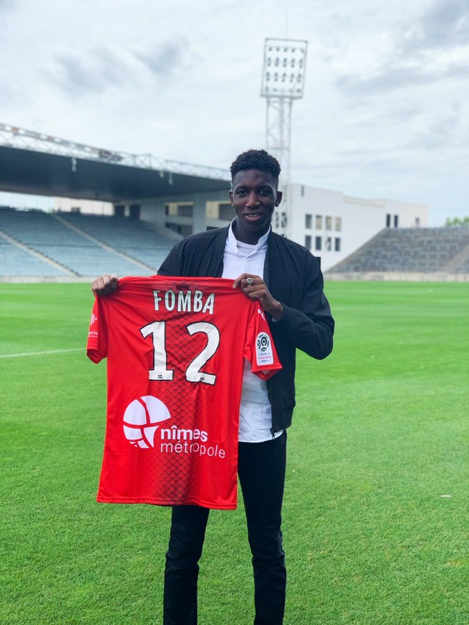 Nîmes : Fomba signe jusqu'en 2023 (Officiel)