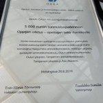 Image for the Tweet beginning: Sanomattoman ylpeä kaikista @oppijanoikeus toimijoista.