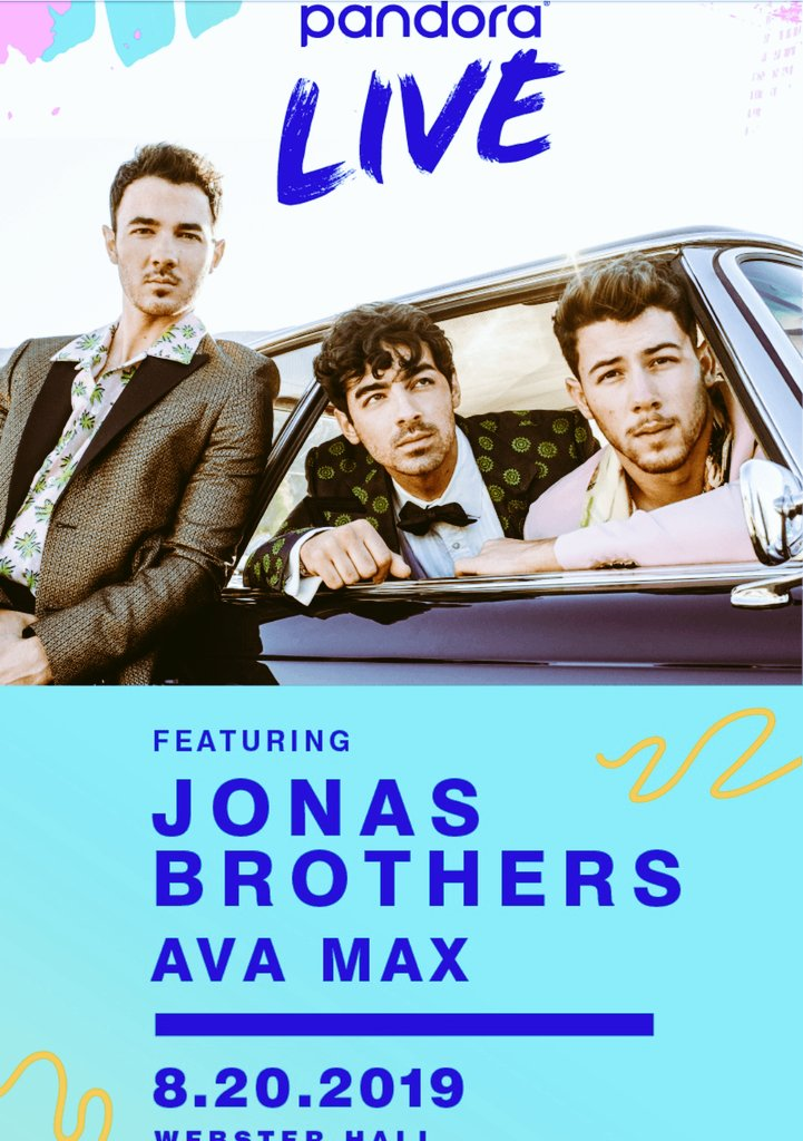 TODAY @jonasbrothers ARE PERFORMING A FREE SHOW AT @WebsterHall IN NY  #HappinessBeginsTour  #JonasBrothers<br>http://pic.twitter.com/3A0iPjzQp3