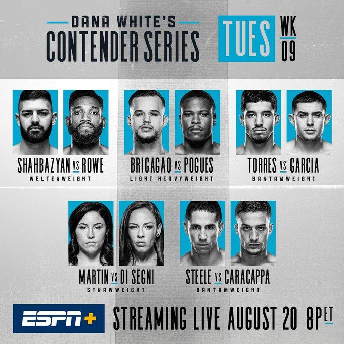 The next round of interviews ✍️  #DWCS goes down tonight - on ESPN+ ➡️ https://t.co/Yo