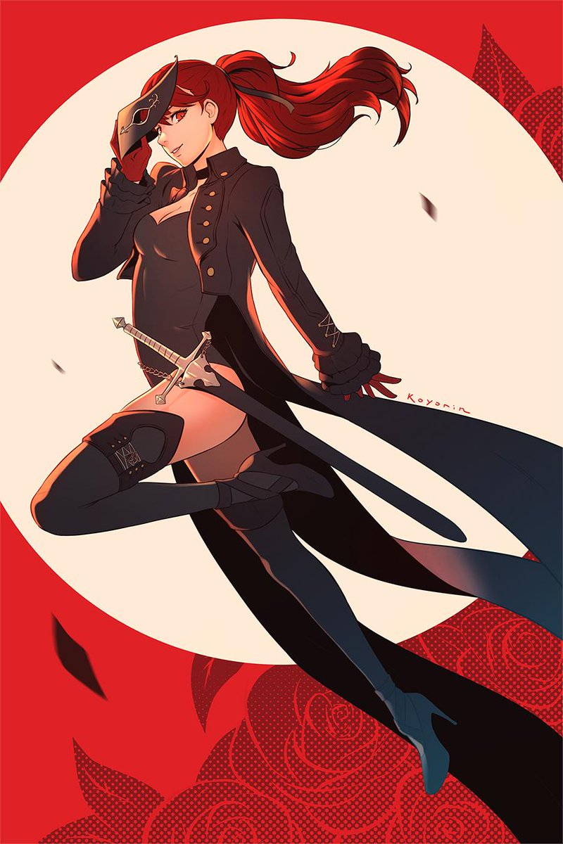 Kasumi fan art I did earlier this year! // #Persona5 <br>http://pic.twitter.com/EP9DD08b6z