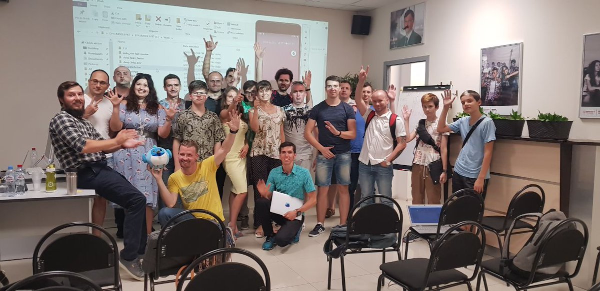 Flutter Study Jam at Krasnodar with @bunopus.<br>http://pic.twitter.com/Tf2caQkk7p