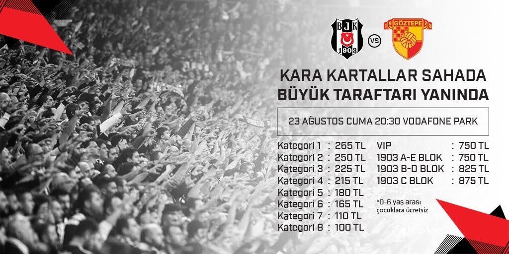 Göztepe Maçı Biletleri Satışa Sunuldu 📎 bjk.com.tr/tr/haber/77024/ ➡️ passo.com.tr/tr/etkinlik/be…