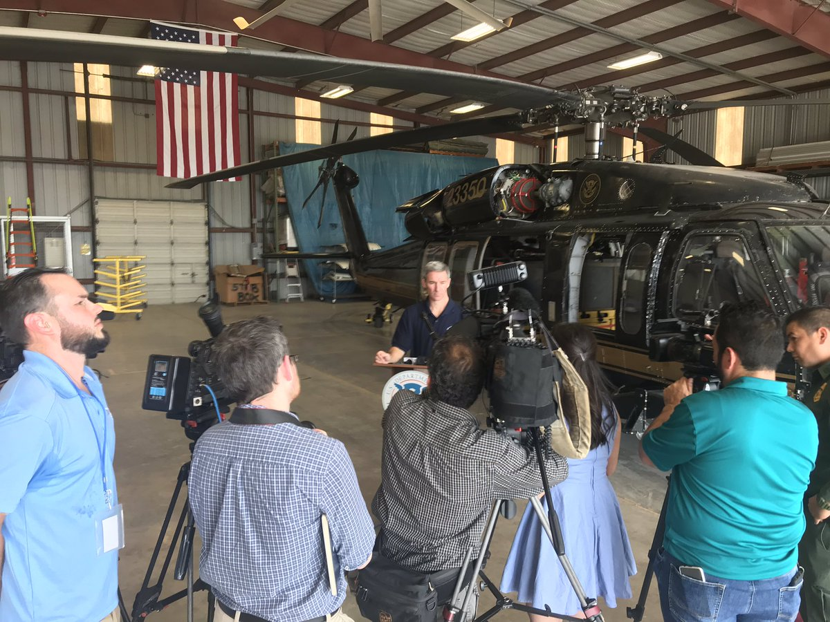 Thanks to the McAllen Area press for coming out to talk about @USCIS's  work and close collaboration with our sister agencies @CBP and @ICEgov<br>http://pic.twitter.com/1cWrdbKiqV