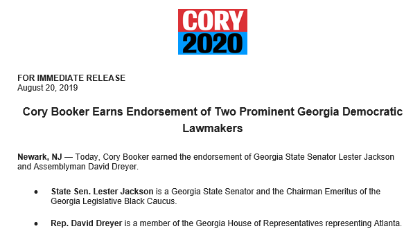 New Jersey Primary 2020.Robert Jimison On Twitter Two Georgia Lawmakers Have Made