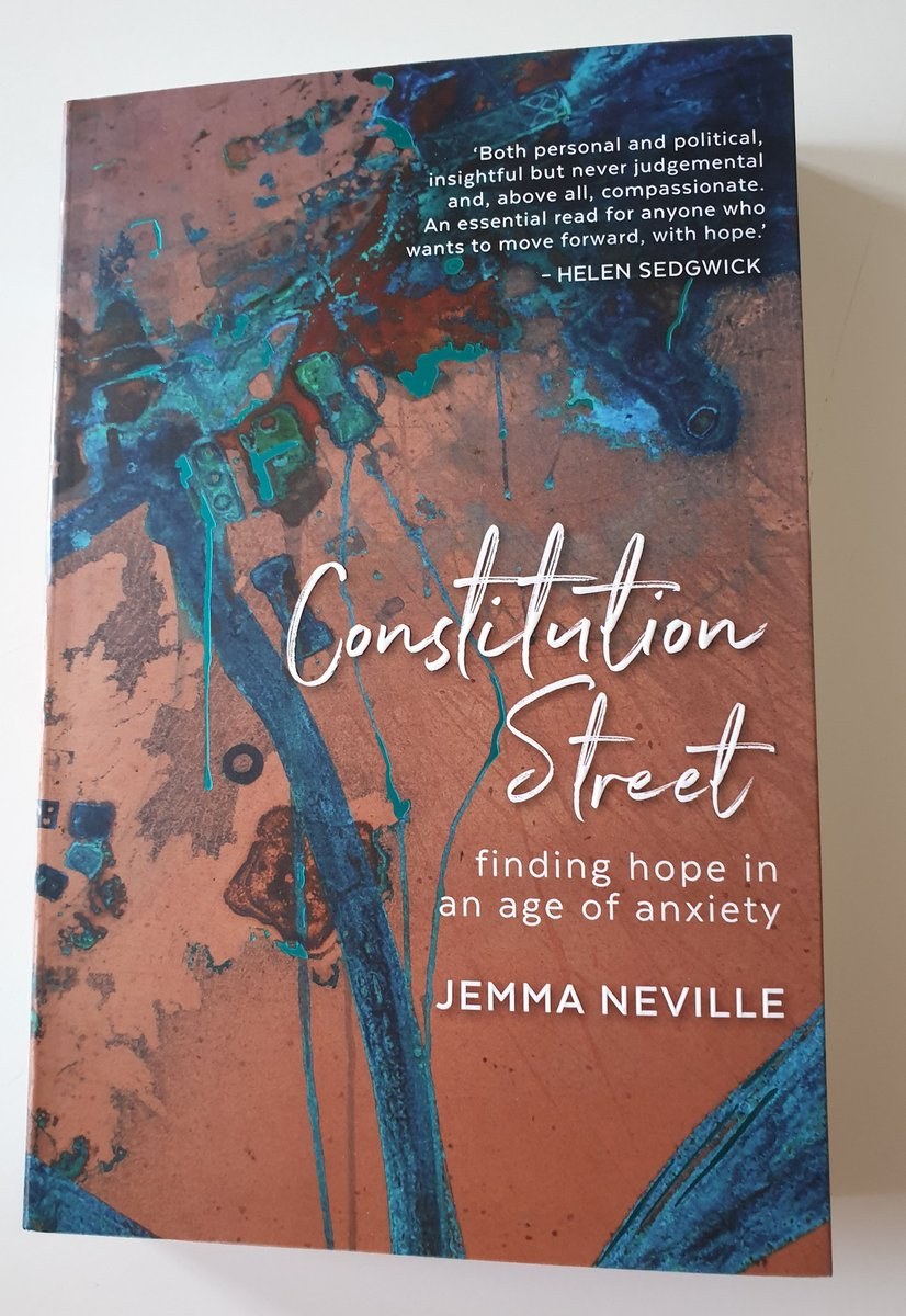 I got an opportunity thanks to @404Ink to enjoy Jemma Neville and Ellie Harrison earlier today at #edbookfest. I bought Constitution Street afterwards out the book shop. What I love about the cover art is you literally don't need a filter - it looks that way without one. https://t.co/YSU19i2L69