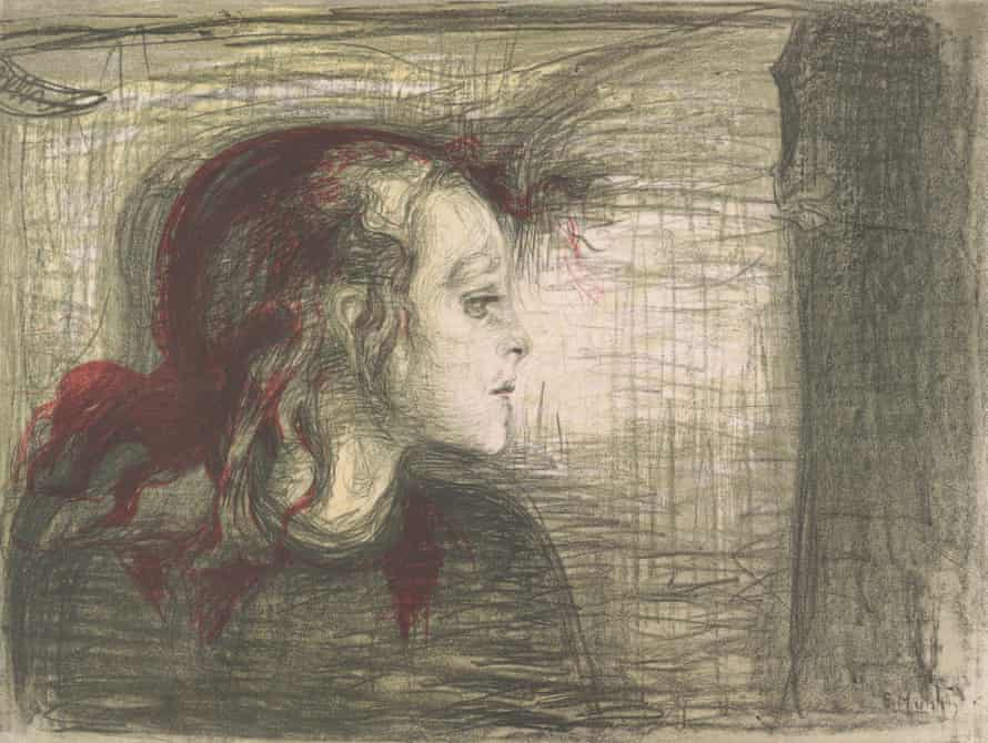 That the world should be filled with such detail, such tiny points of human frailty, threatened to crush her and she had to look away.  - Ian McEwan, The Children Act  Munch, The Sick Child  Photo from Munch Museum <br>http://pic.twitter.com/pei1H1XSDN