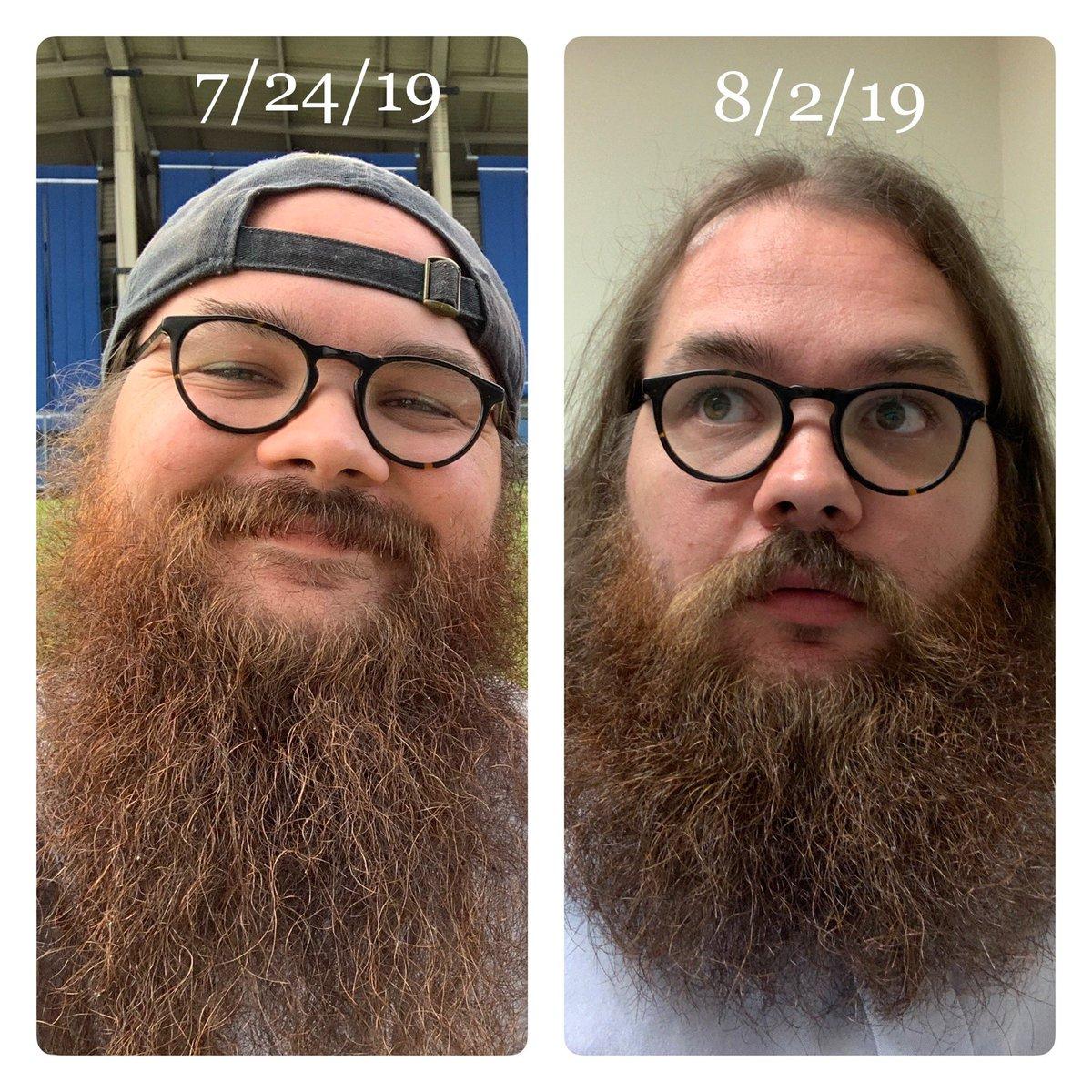 @NickSpagnuolo3 Just got 5-inches cut off, too. Gotta look professional, amiright @ProfSpiker?