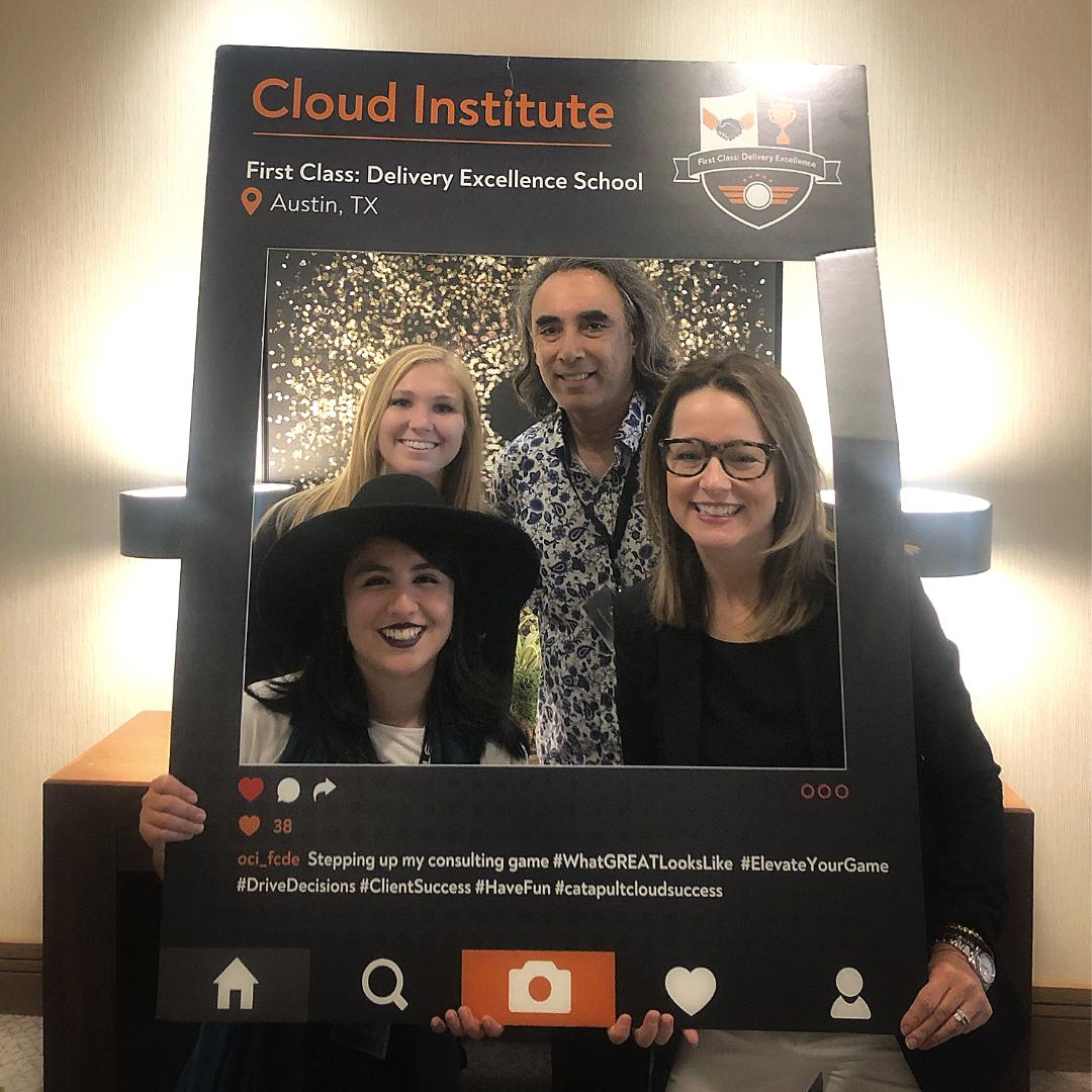 So proud to hold our 2nd Cloud Institute session for our  consultants! When we invest in our people, they can go out &  empower our clients to transform their organizations. #whatgreatlookslike #oracleconsulting  http:// bit.ly/2TOih55     <br>http://pic.twitter.com/X4vNWz4MQv