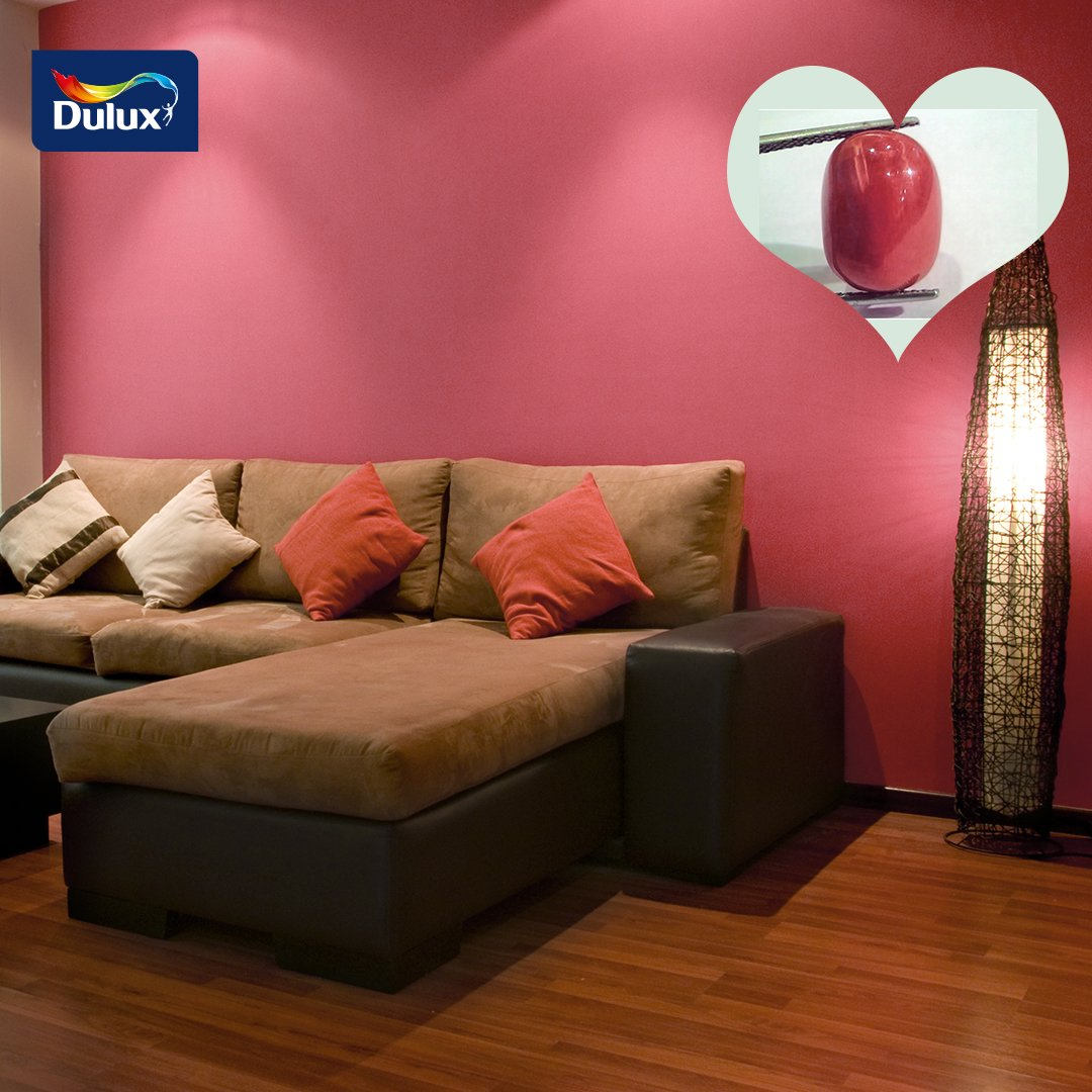 Unlike most gemstones which are of mineral origin, Coral is formed by living organisms. It forms from branching, antler-like structures.  Matching Colour: Cherry Soda, a colour from our Red Palette; it's great for interiors, especially the kids' room.  #DuluxNigeria #LetsColour<br>http://pic.twitter.com/bTwSOeeXm9
