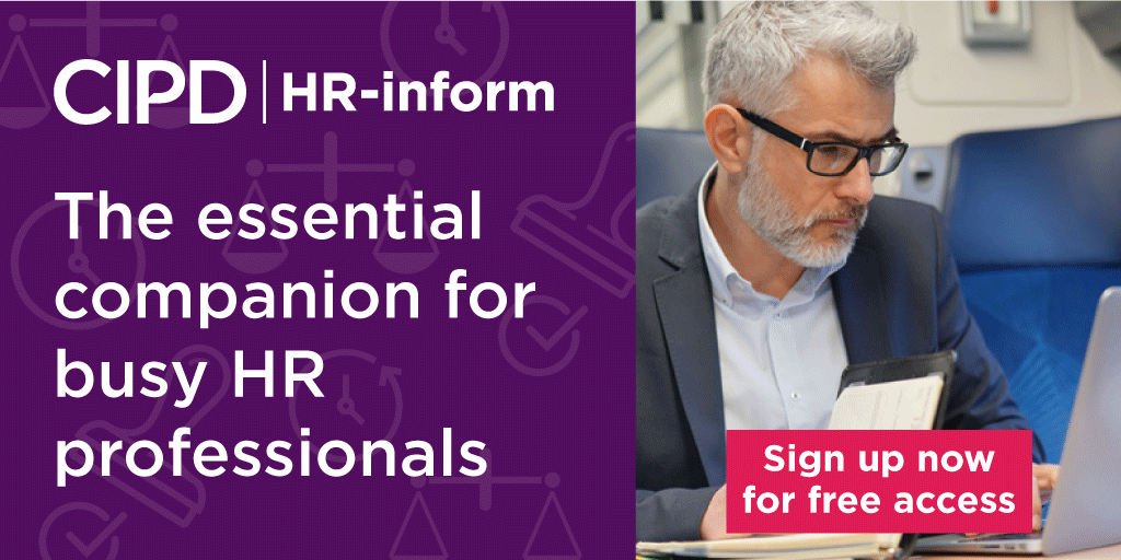 CIPD @HRinform is the extra team member you can't do without! Book a free demo today for instant access to HR and Employment Law resources, available to use right away. ow.ly/tsL350vD7tS