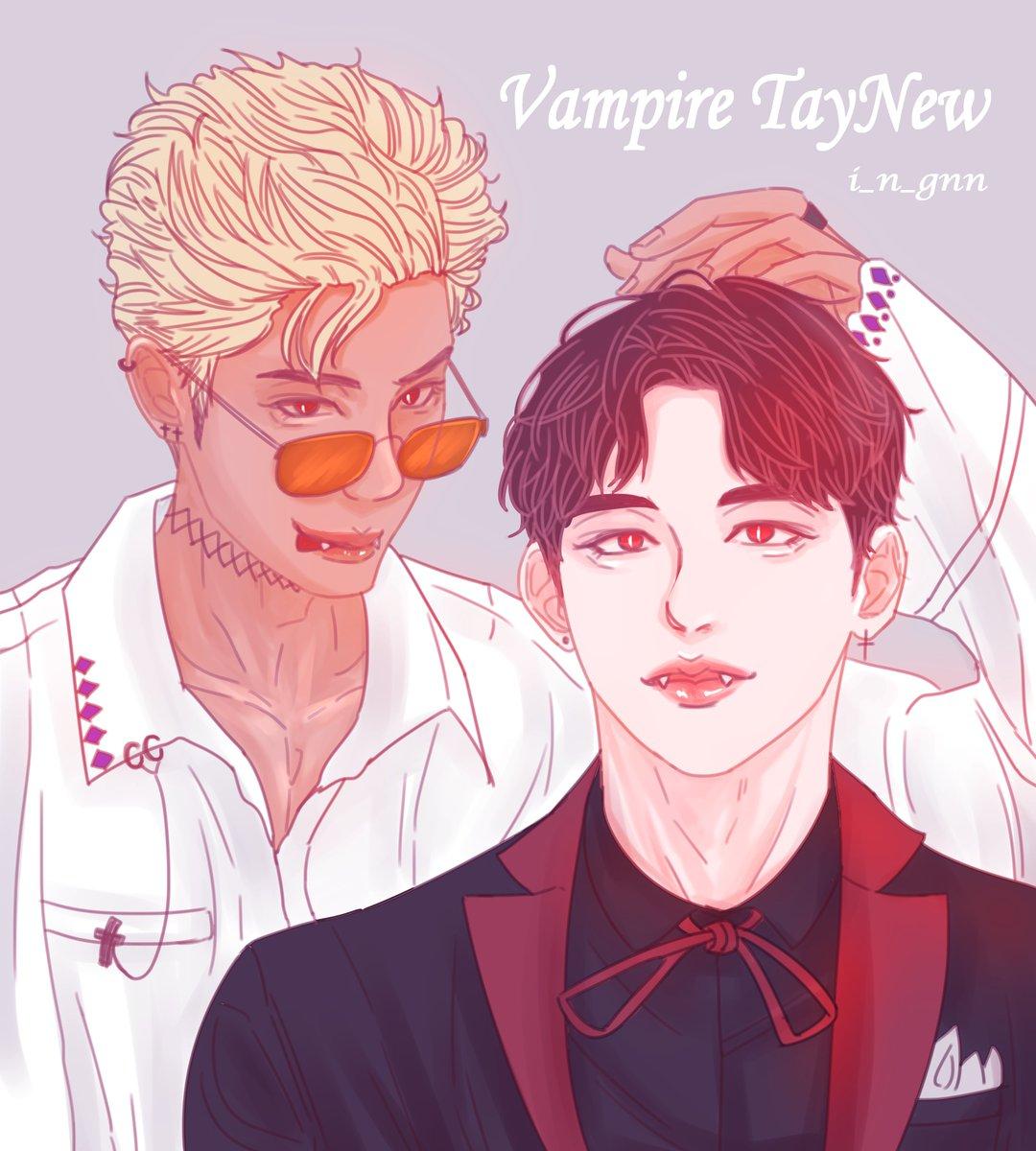 Vampire TayNew .ver   #Newwiee #New_Thitipoom #Tawan_v #taytawan   #เตนิว #โพก้า #TayNew #DarkBlueKiss #TayNewFanart  @Tawan_V  @New_Thitipoom<br>http://pic.twitter.com/IpHIkxLhHx