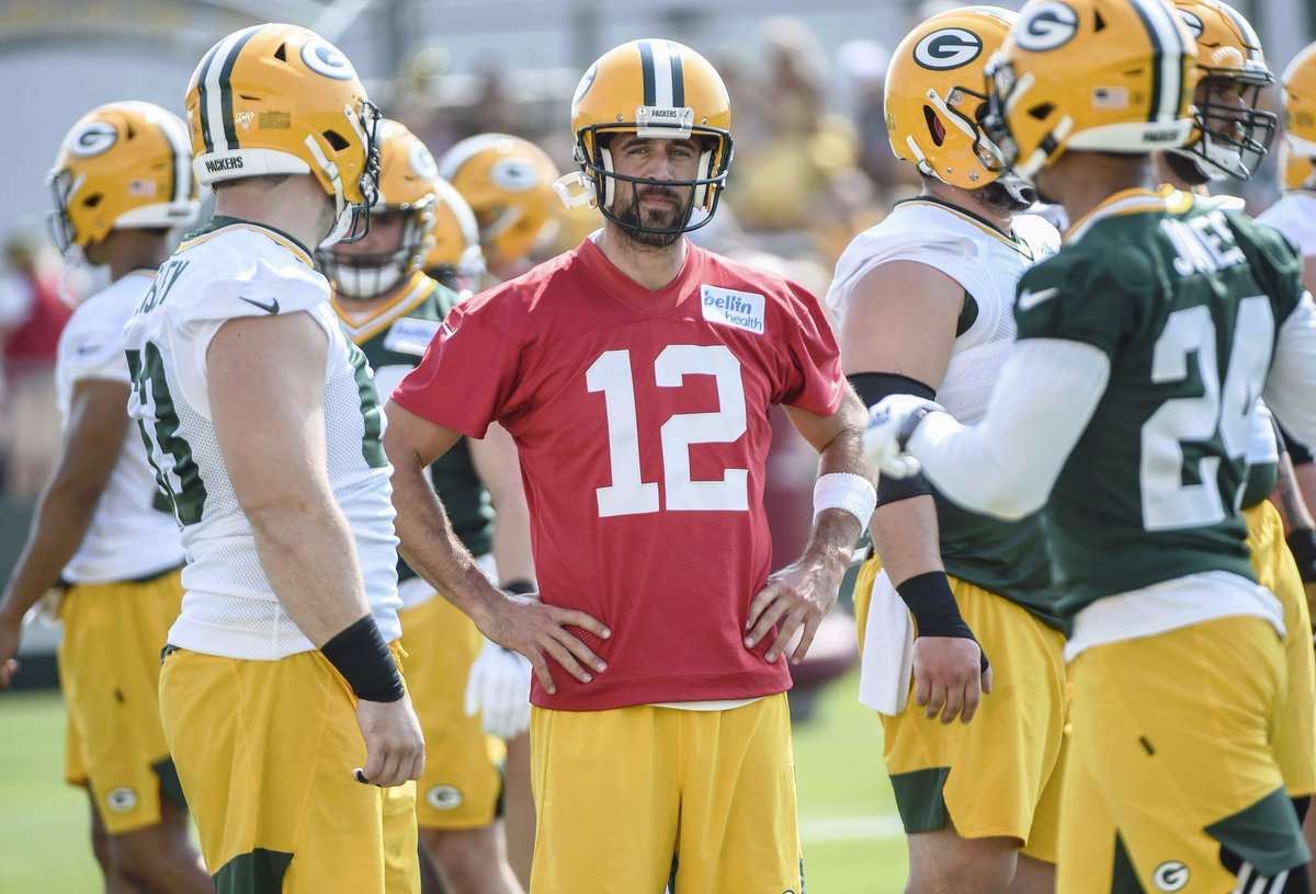 Aaron Rodgers is not too concerned about playing in the preseason. He values practice reps more than reps in preseason games.  Do you agree with him? Is it the end of the world if he doesn't play vs #Raiders and #Chiefs? #Packers - The @Bill_Michaels Show https://t.co/JoJoESx0z2