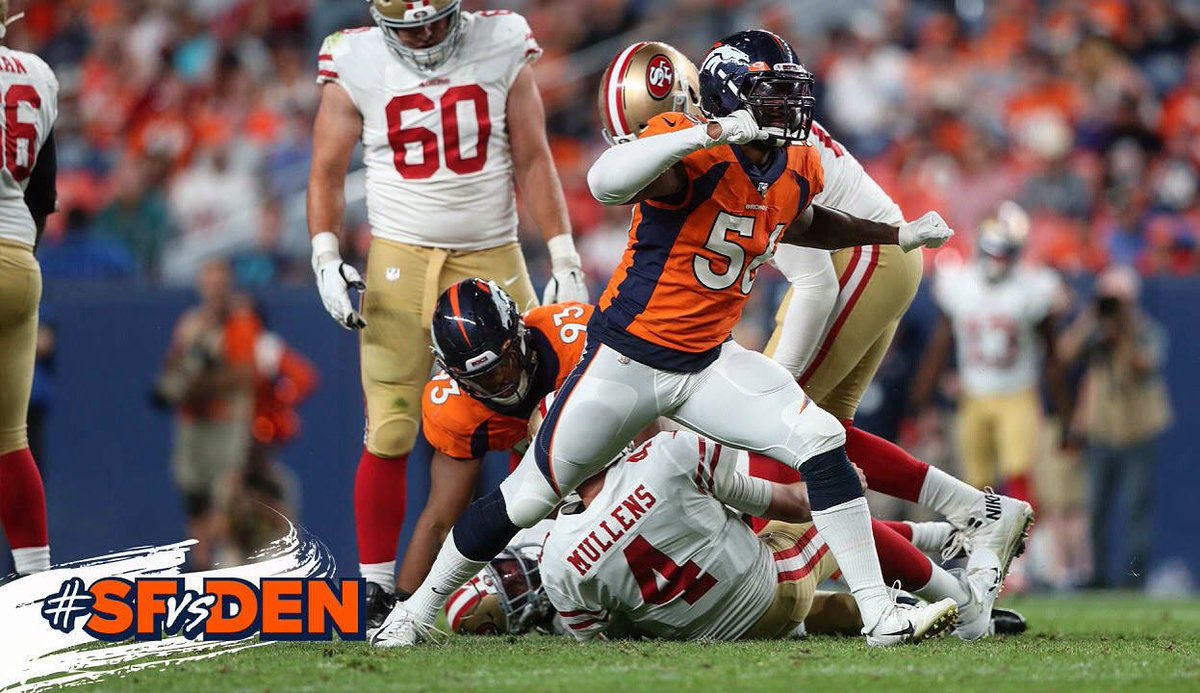 I promise the feeling never gets old 😎 #readyready #milehigh #broncos #broncoscountry #sack
