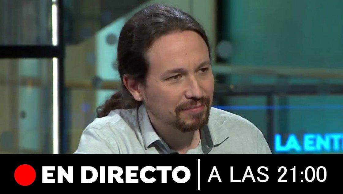 Entrevista a @Pablo_Iglesias_ en @A3Noticias esta noche a partir de las 21:00 horas con @EstherVaqueroH. Explicará la última propuesta de Podemos al PSOE atres.red/zckjv1