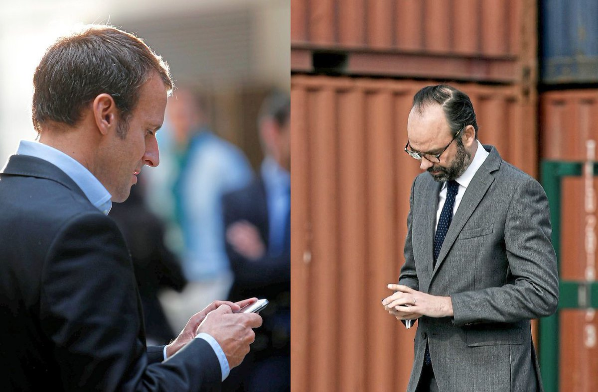 Messageries : plutôt WhatsApp à Matignon et Telegram à l'Elysée Fidèles à leurs habitudes de juppéistes, Édouard Philippe et ses collaborateurs continuent à échanger par WhatsApp alors qu'Emmanuel Macron et ses ministres utilisent Telegram >> au secours...  https:// buff.ly/30gsTvM    <br>http://pic.twitter.com/1RcKv5u464
