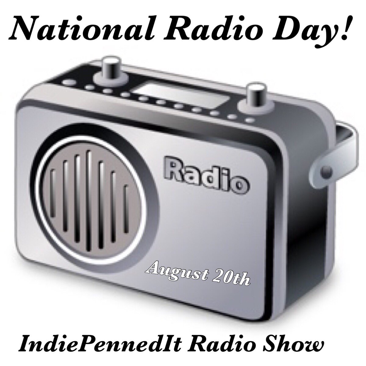 It's National Radio Day! Celebrate by tuning in to the IndiePennedIt Radio Show tonight on @nuubeatradio.   http://www. nuubeatradio.com     #nuubeatradio #indiepenneditradioshow #indiemusic #indiepenneditradio #nationalradioday #indieradio #internetradio #internetradioshow<br>http://pic.twitter.com/pnY71jD75U