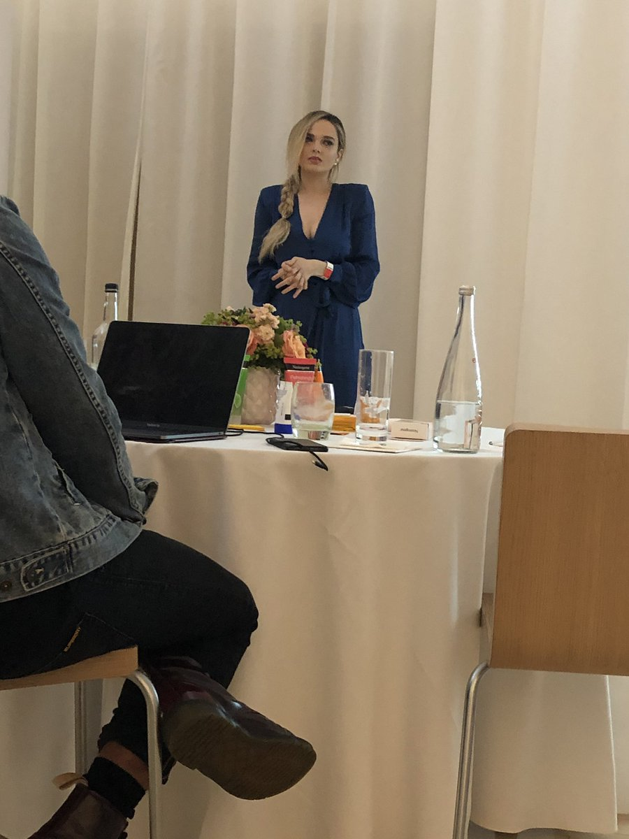 Such a inspirational talk today @mypaleskinblog xx<br>http://pic.twitter.com/M7JcQLXj5h