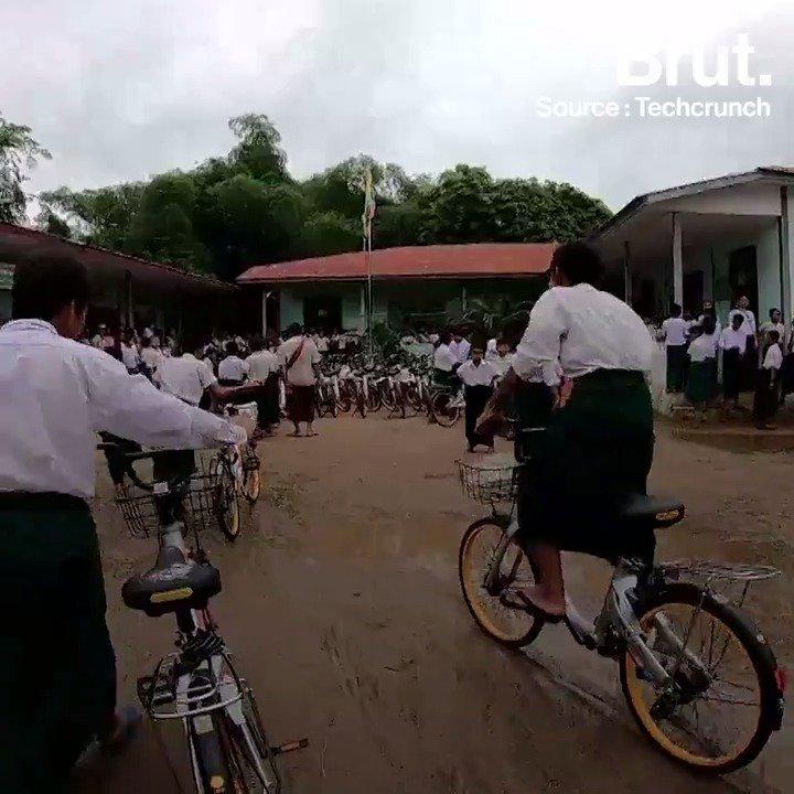Grâce à ce vélo, j'ai plus de temps pour mes études. Cet entrepreneur a amélioré la vie de millions denfants birmans en recyclant des vélos abandonnés. Voilà comment il sy est pris...