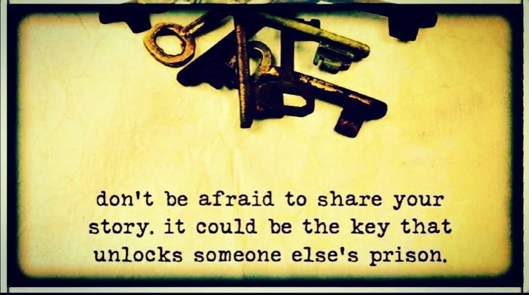 Don't be afraid to share your...  #TuesdayThoughts #TuesdayMorning<br>http://pic.twitter.com/REAMy3PbY0