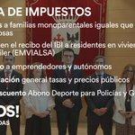 Image for the Tweet beginning: 🍊Bajada de impuestos ✅Ayudas a familias