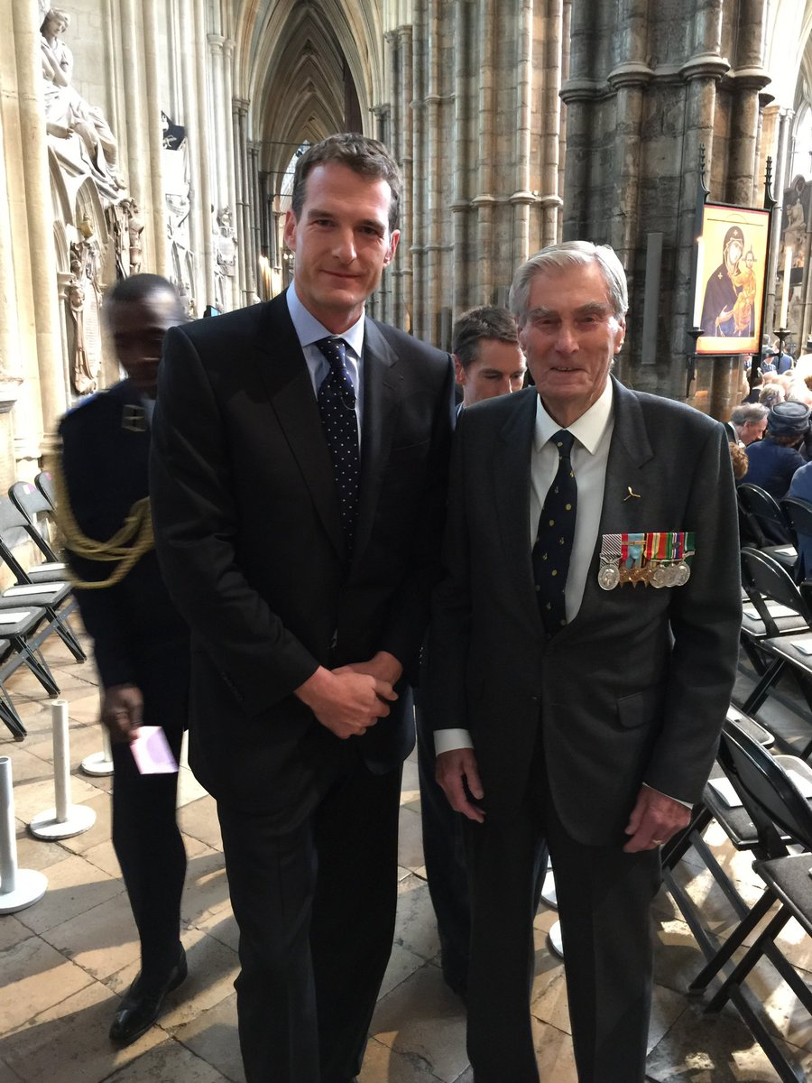 Today in 1940 Churchill thanked RAF aircrew who were suffering during a bloody week in the Battle of Britain. Never in the field of human conflict, he told the House of Commons, was so much owed by so many to so few. Paul Farnes & Tom Neil: two of the last of the Few.