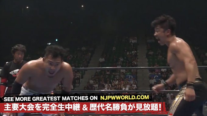 It's Wednesday, August 21 in Japan! #onthisday in 2016, the Super J-Cup finals boiled down to KUSHIDA and Yoshinobu Kanemaru.  Relive this match FREE on @njpwworld!   http:// ow.ly/5Wub50vCU5A     #njpw #sjcup<br>http://pic.twitter.com/mlPsknzLpF