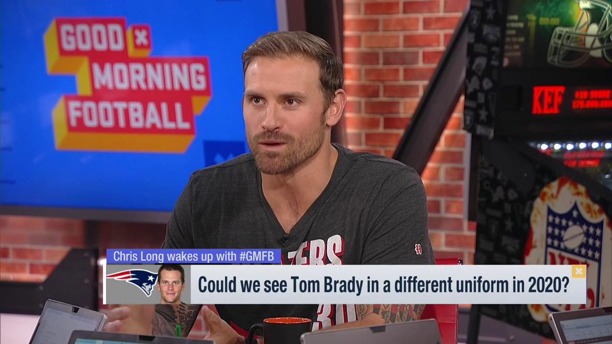 Tom Brady will finish his career... WHERE? @JOEL9ONE goes 🔥🔥 with his TB-12 prediction this morning on #GMFB.