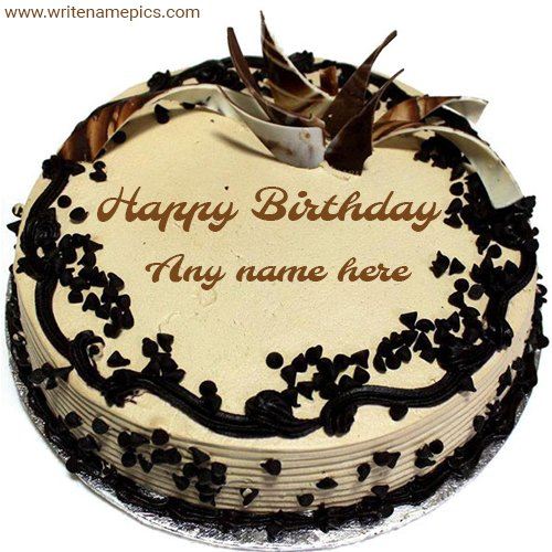 Outstanding Writenamepics On Twitter Birthday Cake With Name And Photo Personalised Birthday Cards Epsylily Jamesorg
