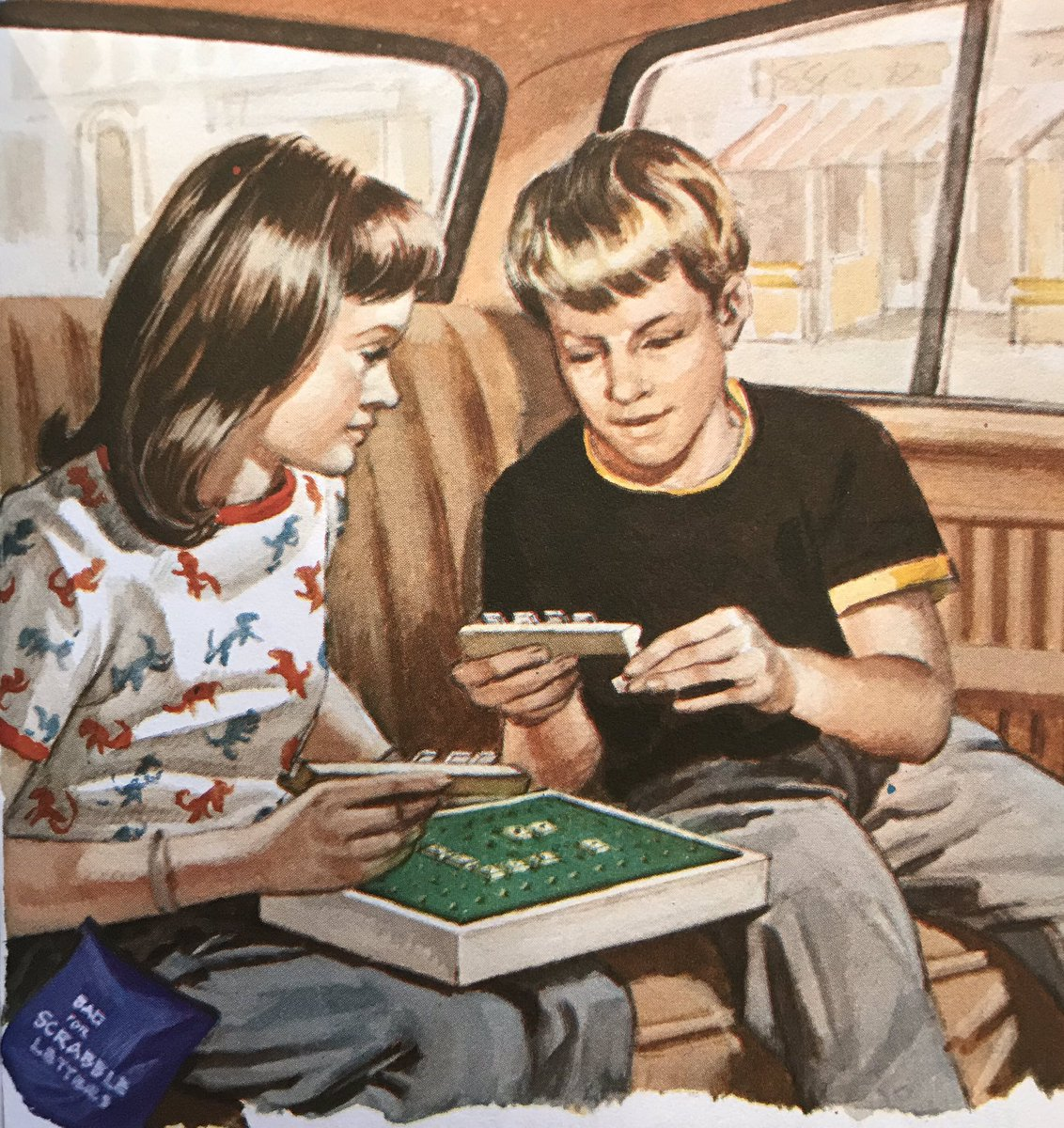 In-car entertainment, 1978, and the rules of 'Car Cricket' #EricWinter
