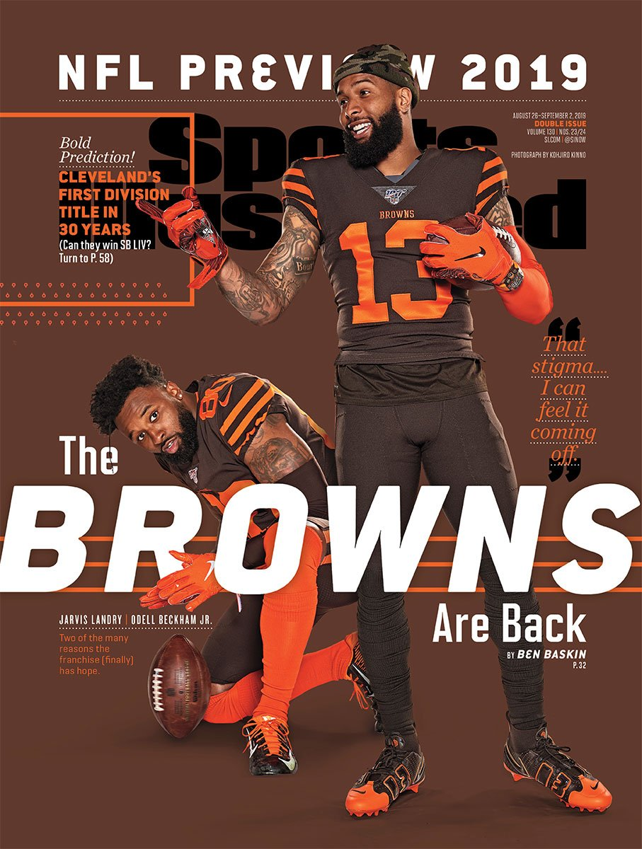 When Jarvis Landry heard that his friend Odell Beckham Jr. was being traded to Cleveland, he cried. But the pair know that there's plenty of work to be done this year. @Ben_Baskin on the new-look Browns go.si.com/Inqdk8a